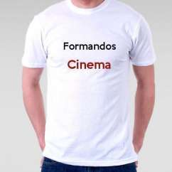 Camiseta Formandos Cinema