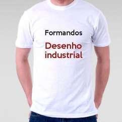 Camiseta Formandos Desenho Industrial