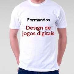 Camiseta Formandos Design De Jogos Digitais