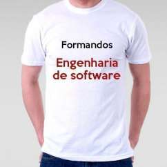 Camiseta Formandos Engenharia De Software