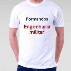 Camiseta Formandos Engenharia Militar