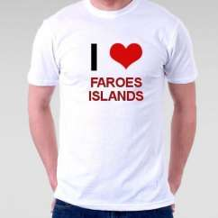 Camiseta Faroes Islands