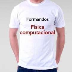 Camiseta Formandos Física Computacional