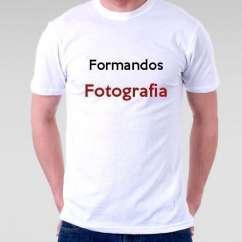 Camiseta Formandos Fotografia