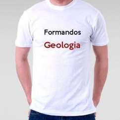 Camiseta Formandos Geologia