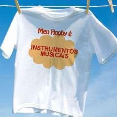 Camiseta Instrumentos Musicais