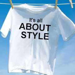 Camiseta its all about style