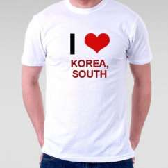 Camiseta Korea, South