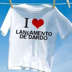 Camiseta Lancamento de dardo