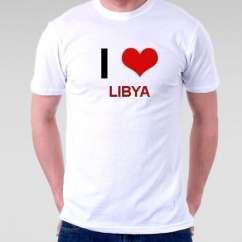 Camiseta Libya