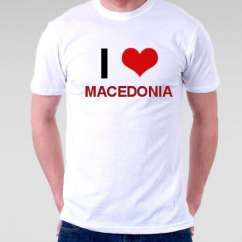 Camiseta Macedonia