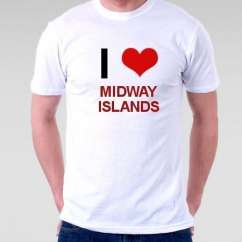 Camiseta Midway Islands
