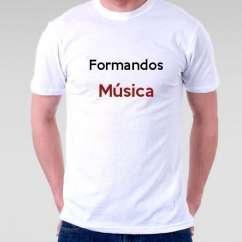 Camiseta Formandos Música