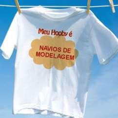 Camiseta Navios De Modelagem