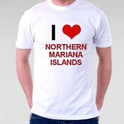 Camiseta Northern Mariana Islands