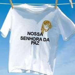 Camiseta Nossa senhora da paz