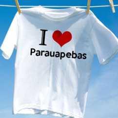 Camiseta Parauapebas