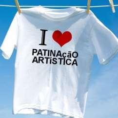 Camiseta Patinacao artistica
