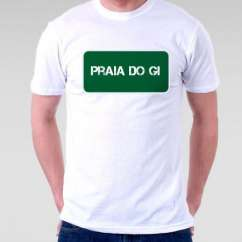 Camiseta Praia Praia Do Gi