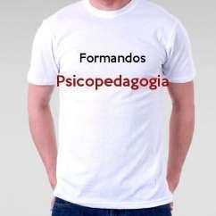 Camiseta Formandos Psicopedagogia