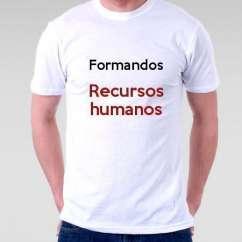 Camiseta Formandos Recursos Humanos