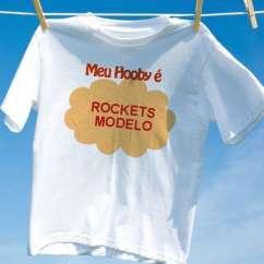Camiseta Rockets Modelo