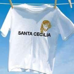 Camiseta Santa cecilia