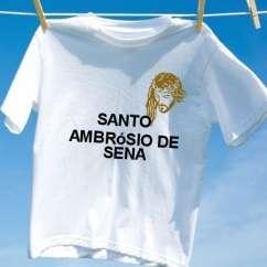 Camiseta Santo ambrosio de sena