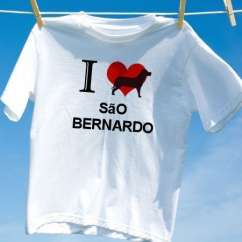 Camiseta Sao bernardo
