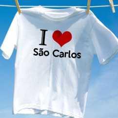 Camiseta Sao carlos