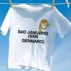 Camiseta Sao januario san gennaro