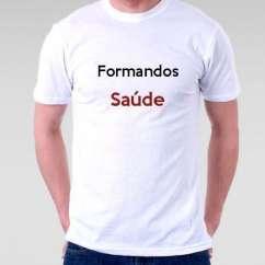 Camiseta Formandos Saúde