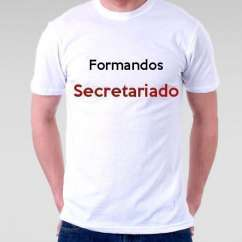 Camiseta Formandos Secretariado