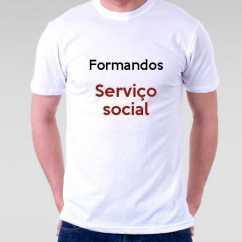 Camiseta Formandos Serviço Social