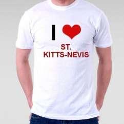 Camiseta St. Kitts Nevis