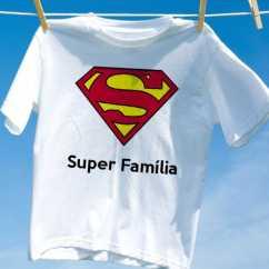 Camiseta Super Família