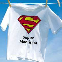 Camiseta Super Madrinha