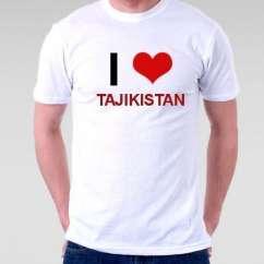 Camiseta Tajikistan