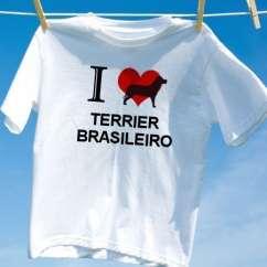 Camiseta Terrier brasileiro