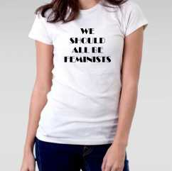 Camiseta Feminista We Should All Be Feminist