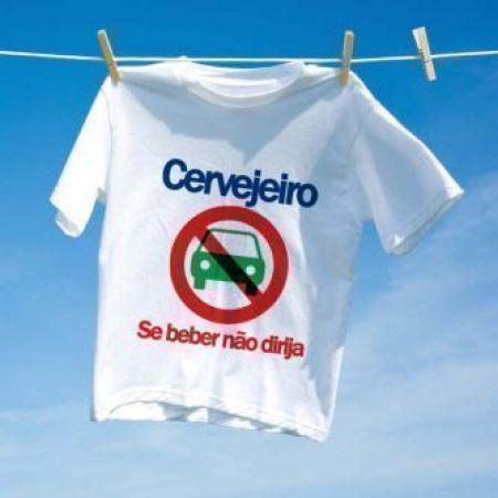 Camiseta Carnaval Se beber nao Dirija