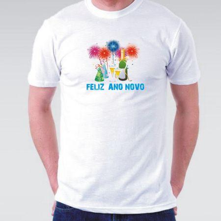 Camiseta Masculina Ano novo 2017