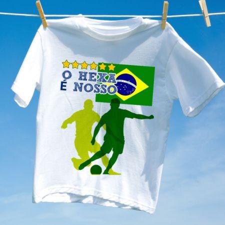 Camiseta Brasil Hexa