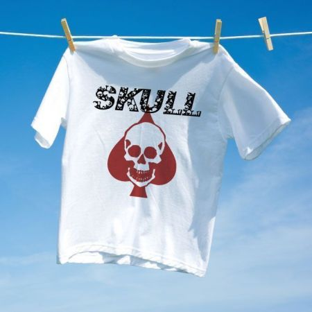 Camiseta Caveira Skull play