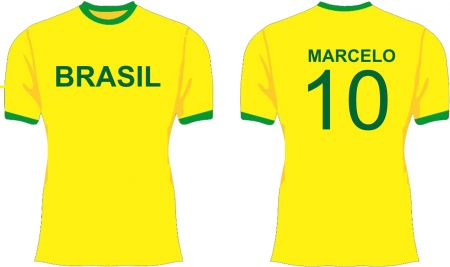 Camiseta Copa do Mundo 2018