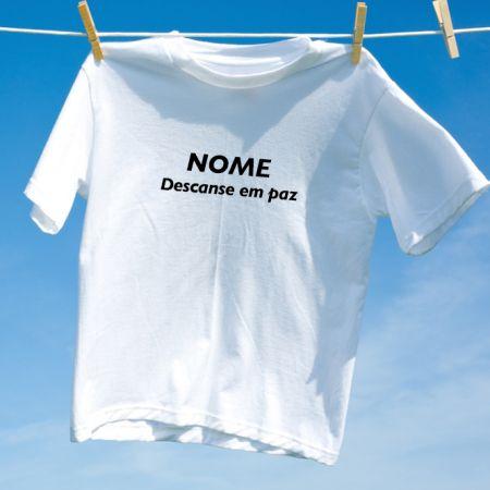Camiseta Descance em Paz
