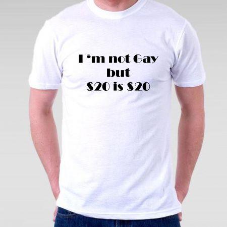 Camiseta Gay 20 is 20