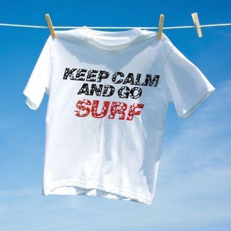 Camiseta Keep Calm and go Surf