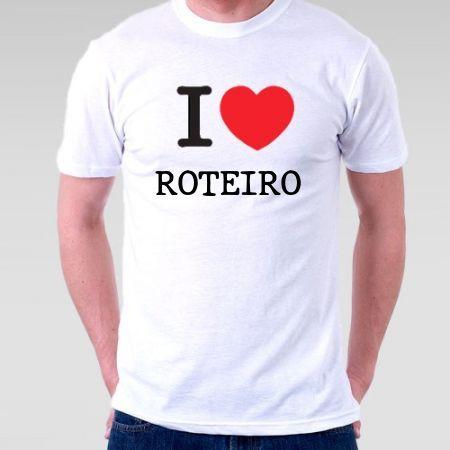 Camiseta Roteiro