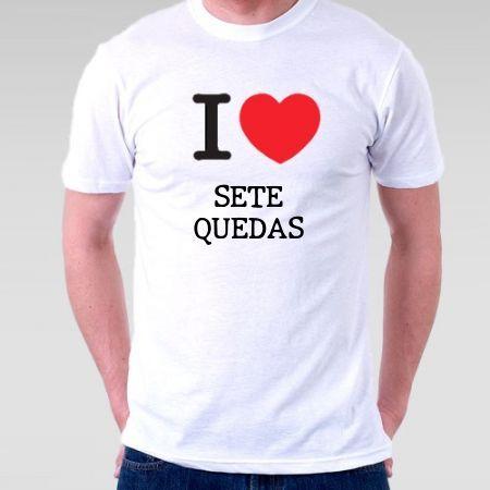 Camiseta Sete quedas